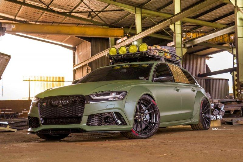 Широкофюзеляжная Audi RS6 Avant от мастерской Race!