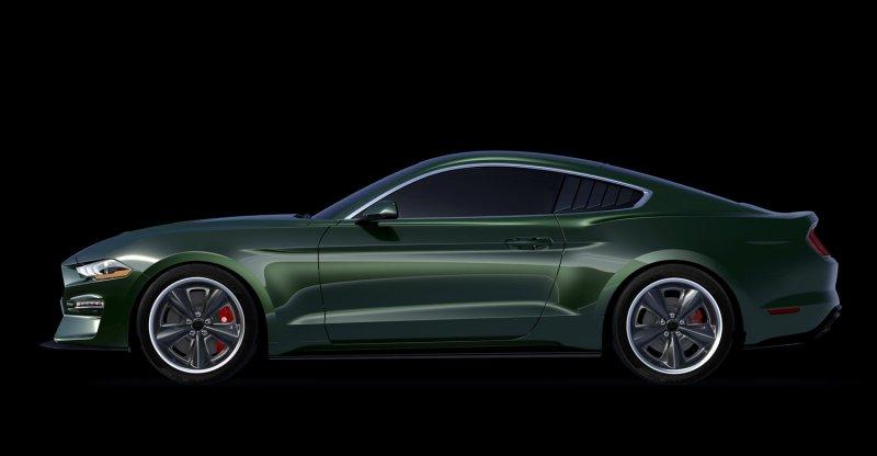 775-сильный Ford Mustang Bullitt McQueen Edition готов к производству