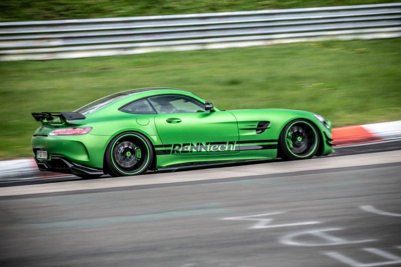 Mercedes-AMG GT R от Renntech - самый быстрый Mercedes на Нюрбургринге