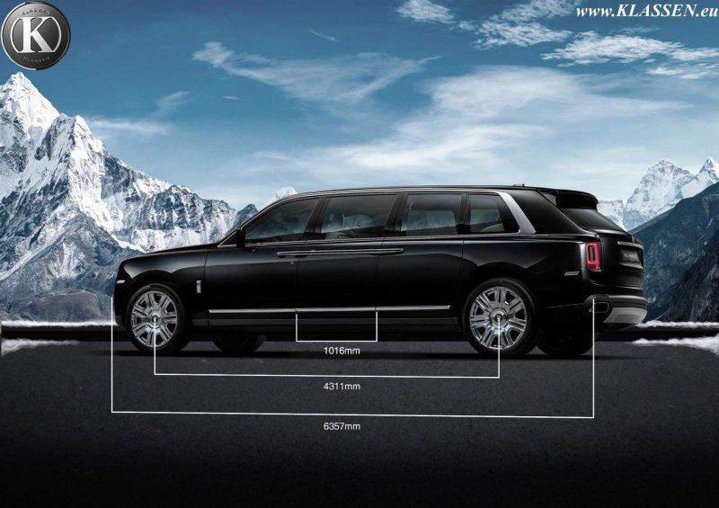 Rolls-Royce Cullinan за 2 млн $ от мастеров Klassen