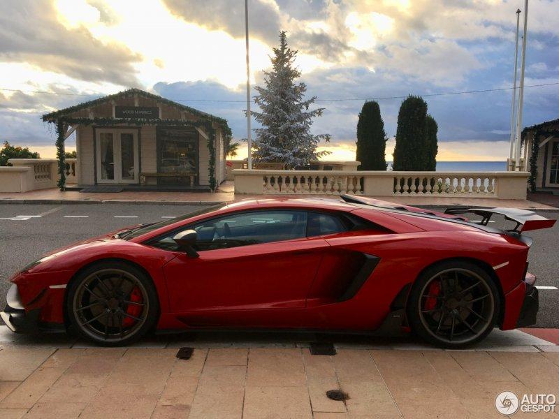 Редкий Lamborghini Aventador Edizione GT от мастеров DMC