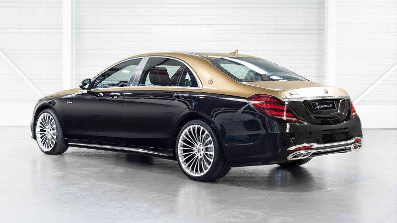 Единственный в своем роде Mercedes-Benz S-Class от мастеров из Hofele