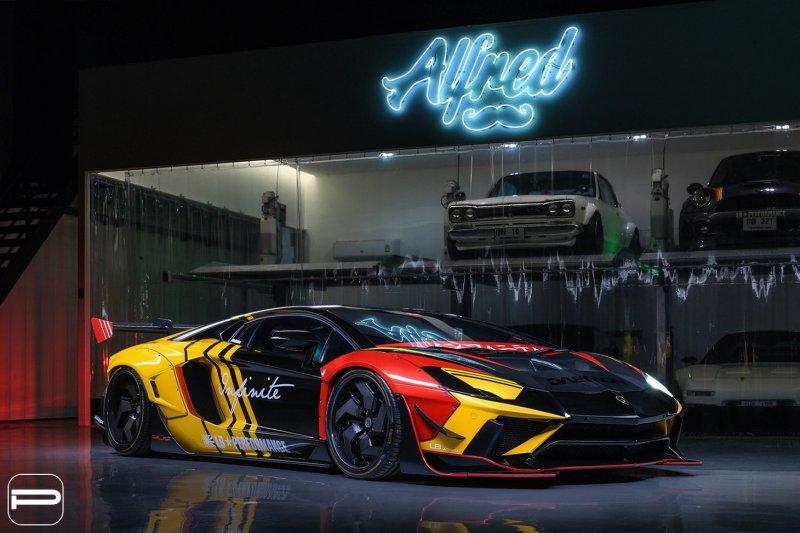 1553869048 8 - Lamborghini Aventador в гоночном амплуа от Infinite Motorsports