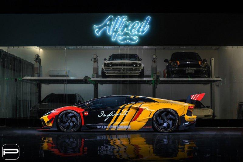 1553869059 9 - Lamborghini Aventador в гоночном амплуа от Infinite Motorsports
