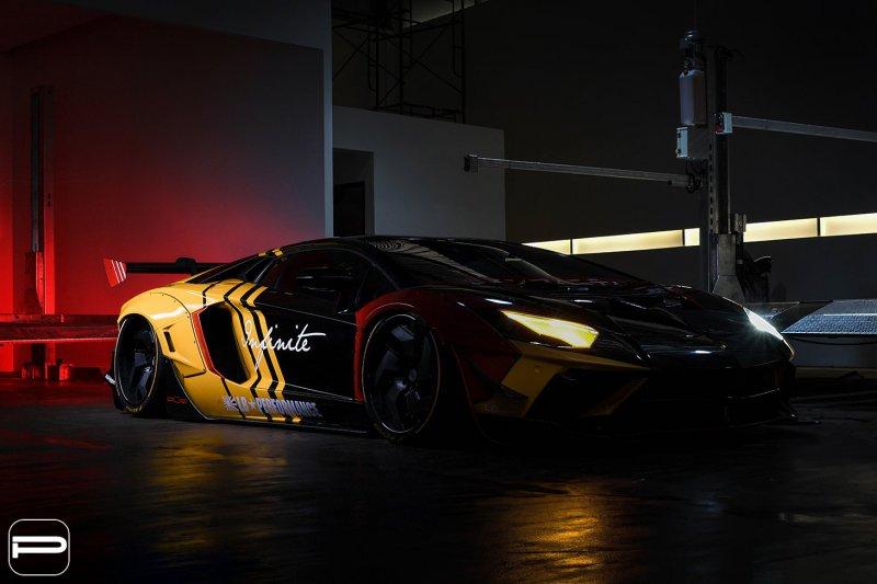 1553869072 5 - Lamborghini Aventador в гоночном амплуа от Infinite Motorsports