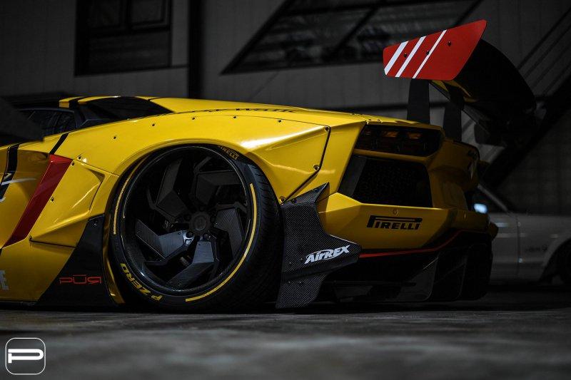 1553869125 6 - Lamborghini Aventador в гоночном амплуа от Infinite Motorsports