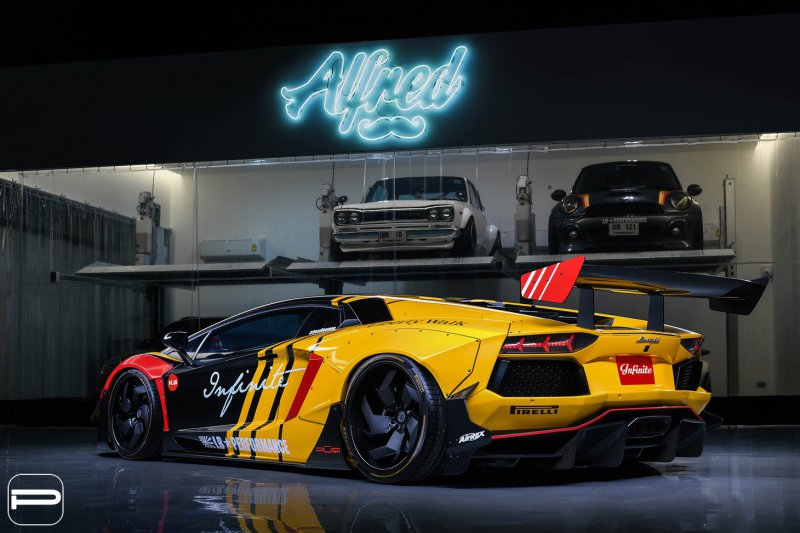 1553869138 7 - Lamborghini Aventador в гоночном амплуа от Infinite Motorsports