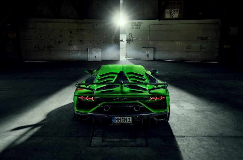 Lamborghini Aventador SVJ от мастерской Novitec