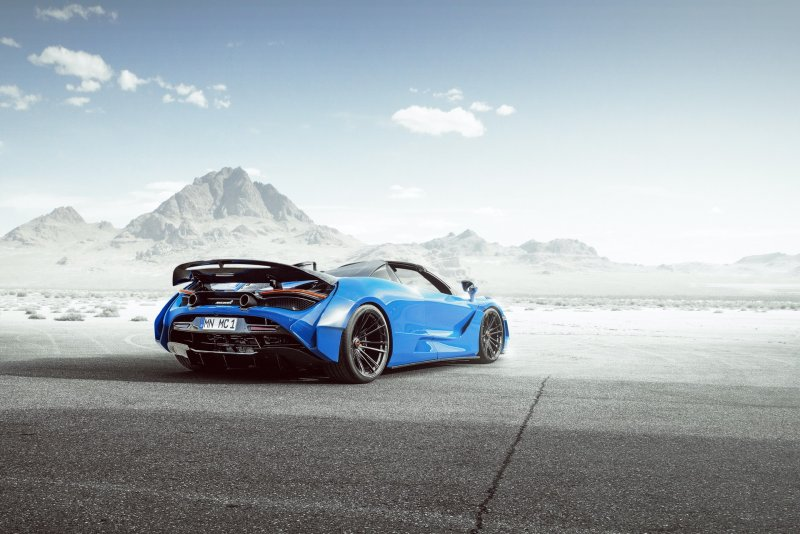 Novitec представила тюнинг-комплект N-Largo для McLaren 720S Spider