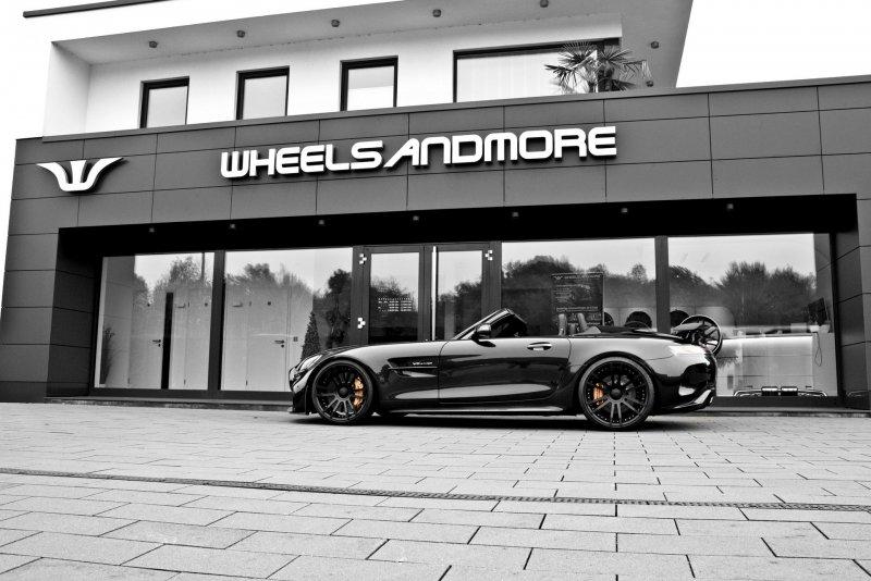 Mercedes-AMG GT R Roadster в исполнении мастерской Wheelsandmore » Автомобили и тюнинг