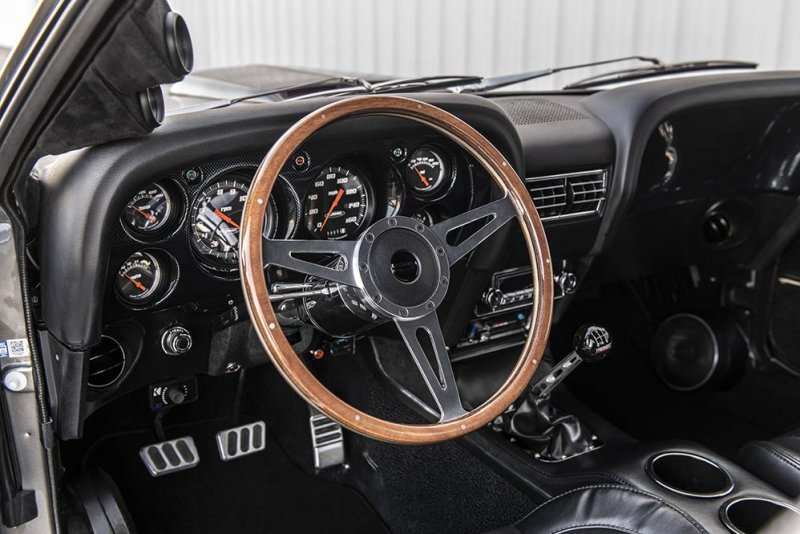 1000-сильный Mustang Mach 1 Hitman 1969 от Classic Recreations