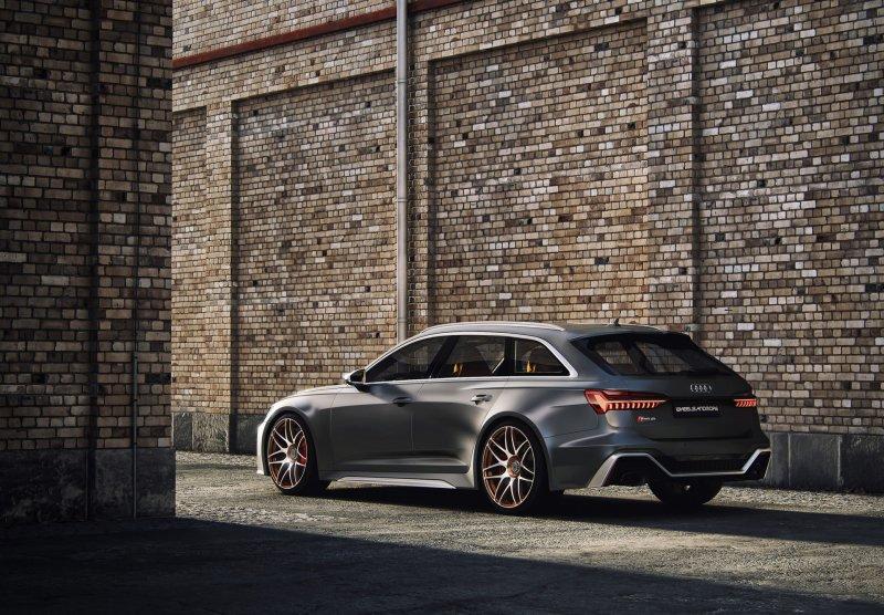 996-сильная Audi RS6 Avant от мастерской Wheelsandmore