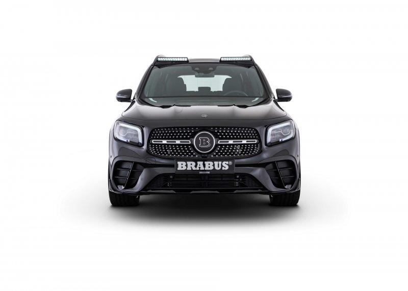 Новый Mercedes-Benz GLB получил набор апгрейдов от Brabus