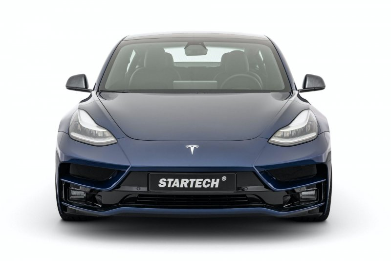 Tesla Model 3 в тюнинге от мастерской Startech