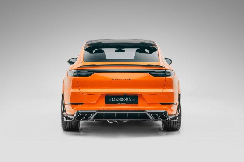 В Mansory модифицировали Porsche Cayenne Turbo Coupe