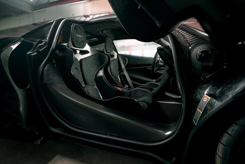 Модификация McLaren 765LT до 800+ л.с. от Novitec